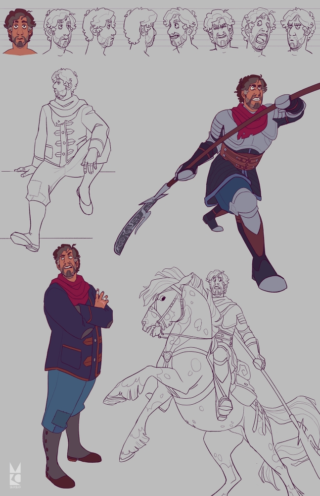 Dominick | Fighter | expressions & poses