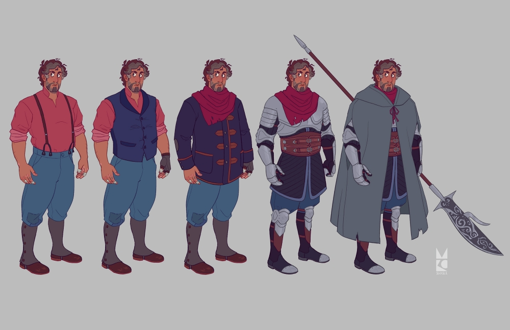 Dominick   Fighter   wardrobe