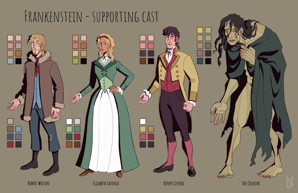 Frankenstein | supporting cast