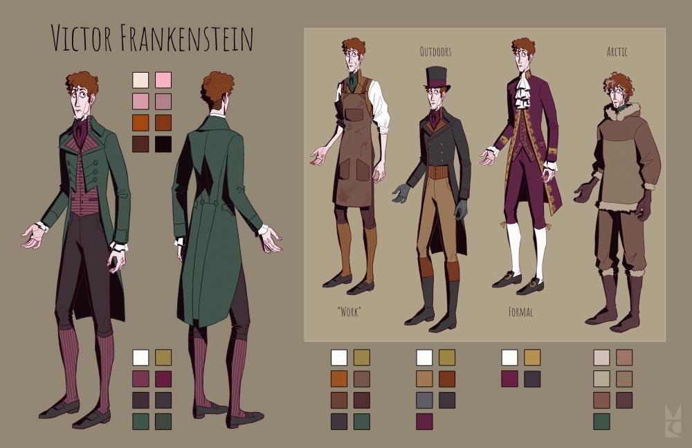 Frankenstein | character sheet