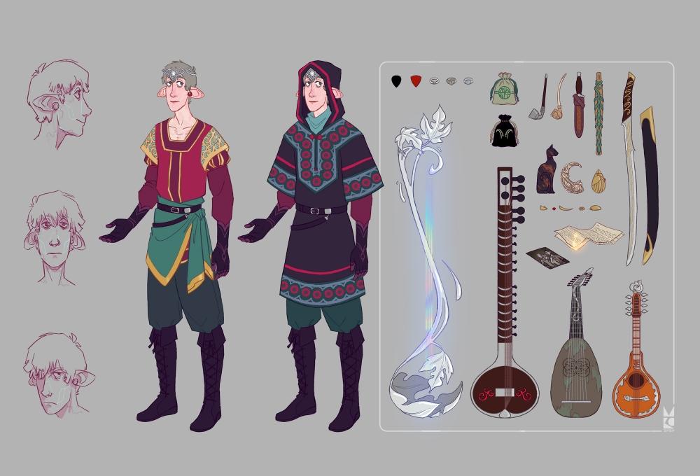 Galenas | Bard | character sheet