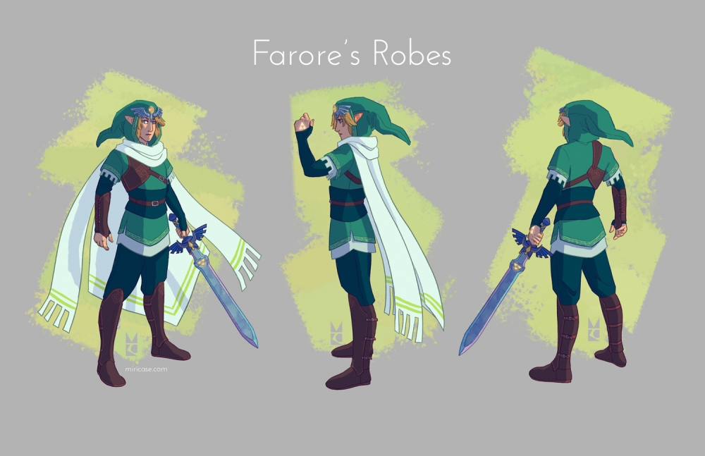 """Link redesign - """"Goddess Hero"""" 