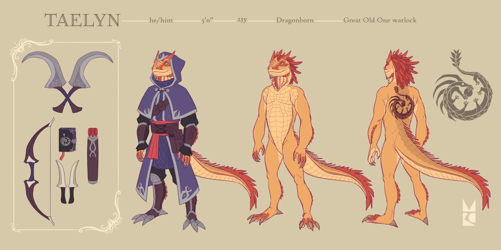 Taelin | Warlock | character sheet